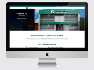 Sitio web de Asesores Aduanales Comerciales