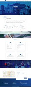Creacion pagina web CDEM