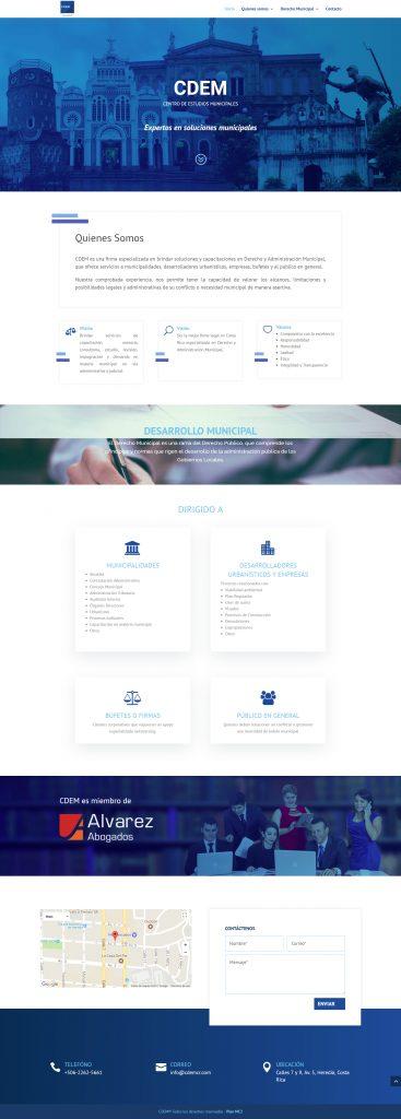 Website development CDEM