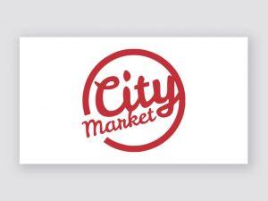Diseno logo City Market