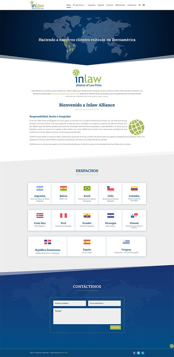 pagina web inlaw alliance iberoamerica