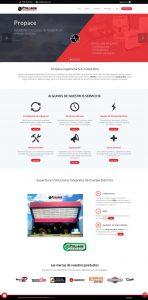 Propace pagina web tienda costa-rica