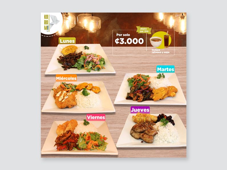 Karomi Sushi social media costa rica