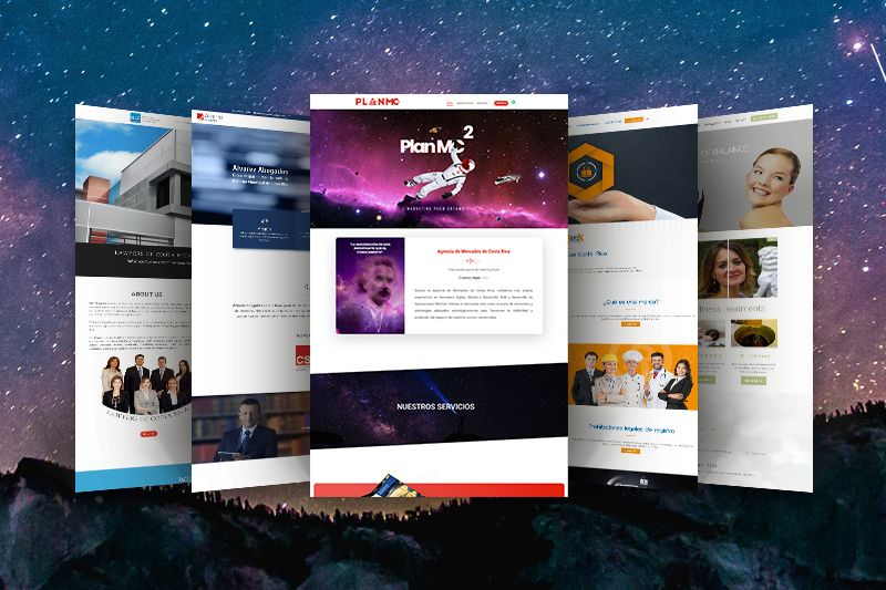 Costa rica Web Design Examples