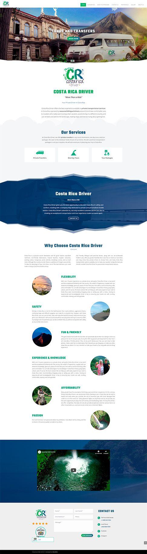 Costa Rica Driver sitio web