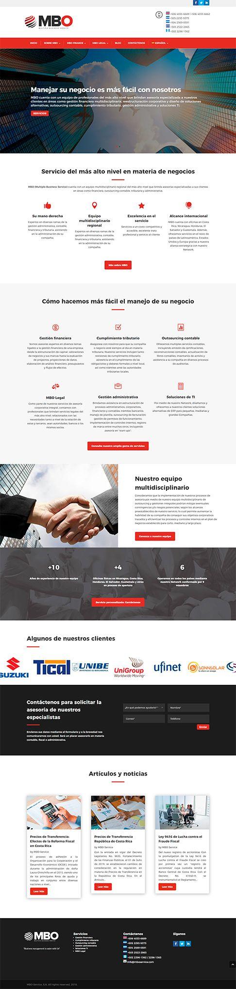 MBO Service Sitio Web costa rica