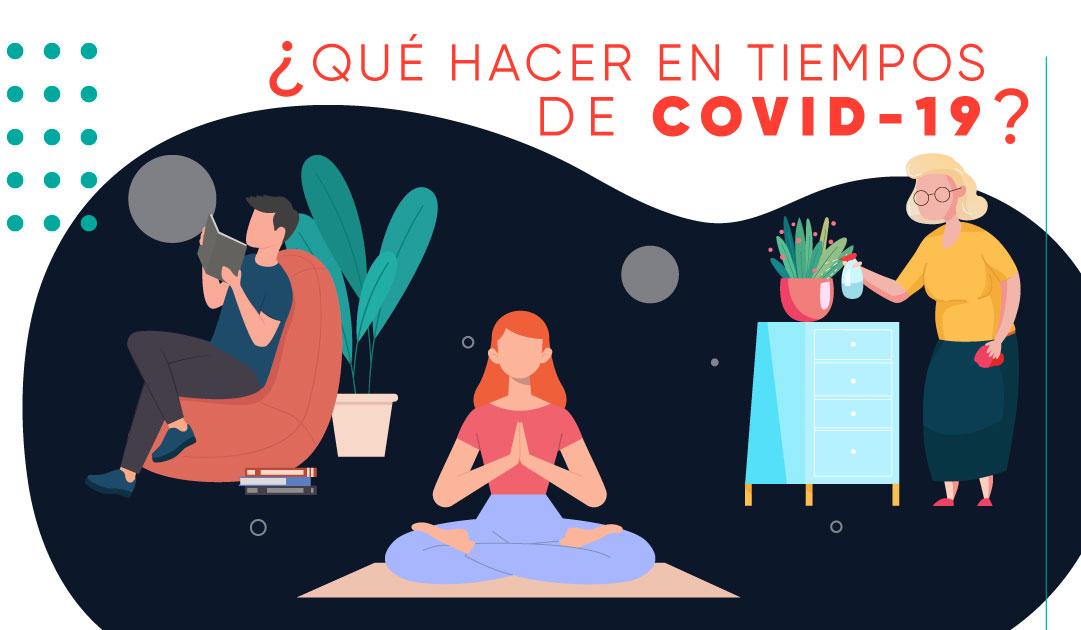 4 actividades para hacer en casa en tiempo de Coronavirus costa rica
