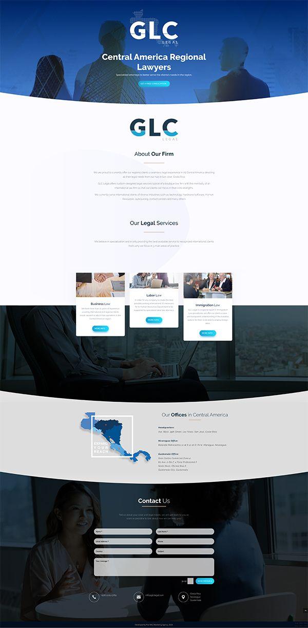 pagina web glc legal centroamerica