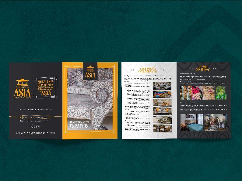 El Bodegón de Asia: Brochure