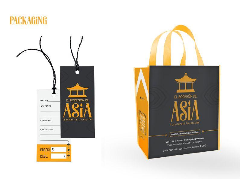 El Bodegón de Asia: packaging